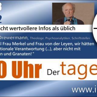 Tagestipp #2 - Eugen Drewermann, Friedensaktivist, Psychoanalytiker, Schrifsteller
